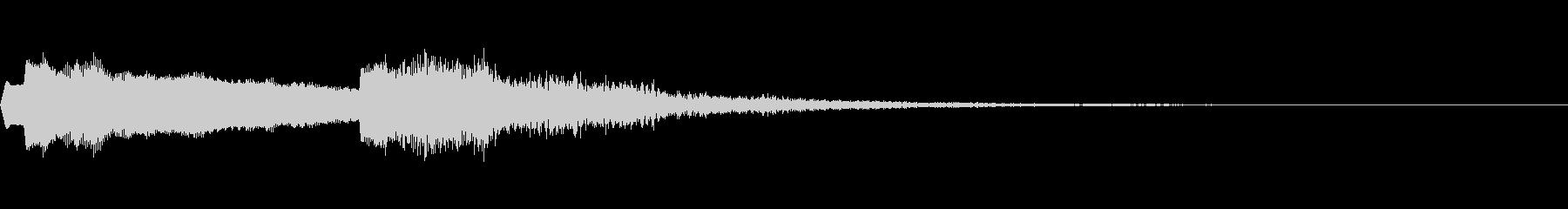 パイプオルガン~バッハのトッカータ前半~の未再生の波形