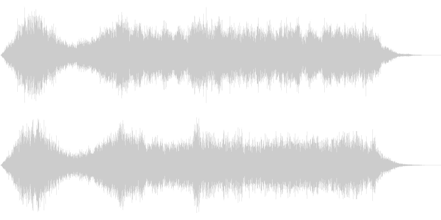ワープ、近未来、SF的音の未再生の波形