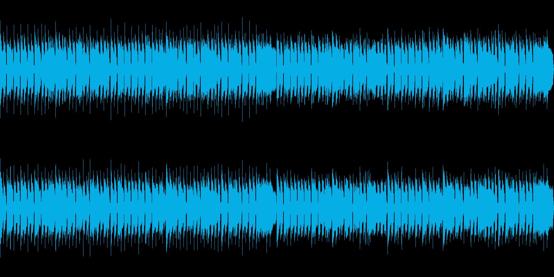 「威風堂々」ほのぼのアレンジの再生済みの波形