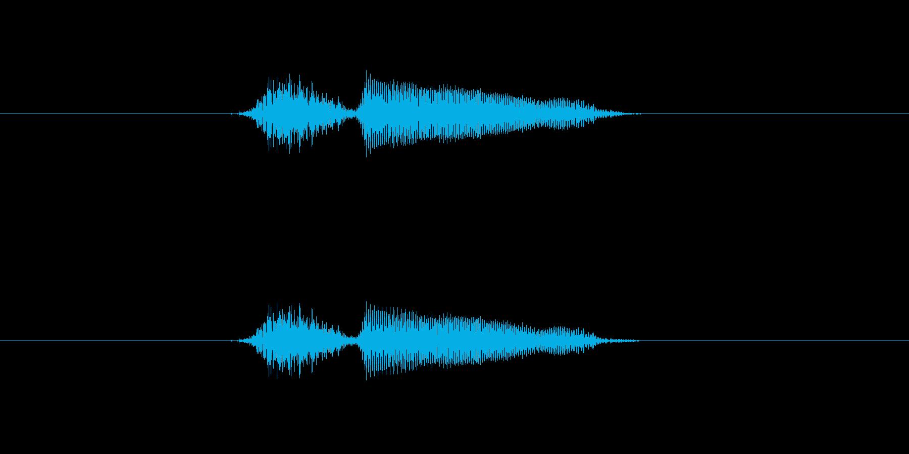 チー の再生済みの波形