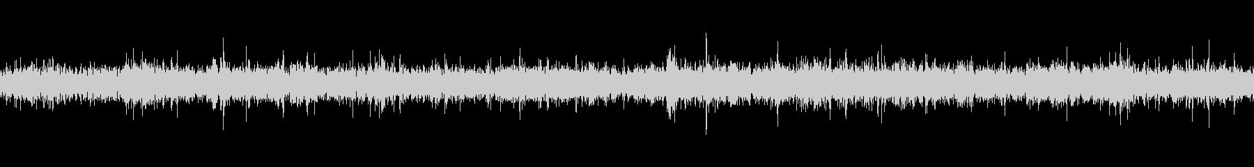 川の流れる音(ループ仕様)の未再生の波形