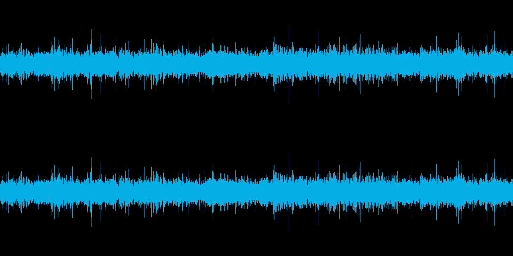 川の流れる音(ループ仕様)の再生済みの波形