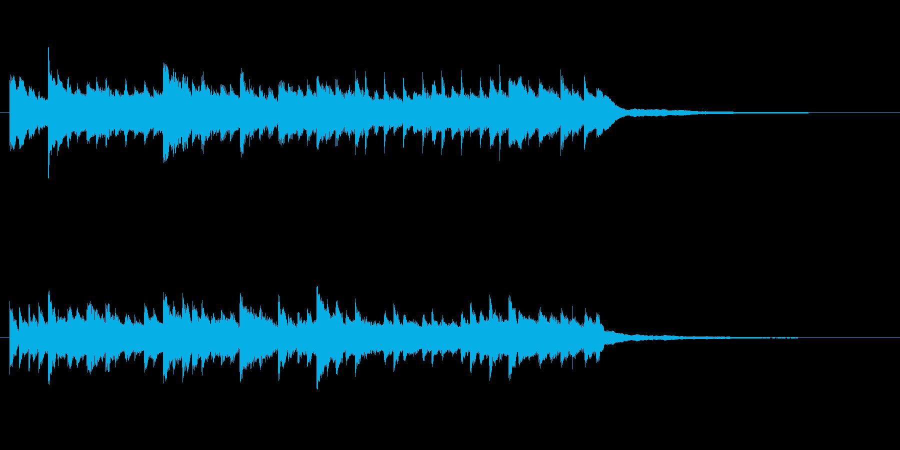 切ないピアノBGM30秒 回想 懐かしいの再生済みの波形