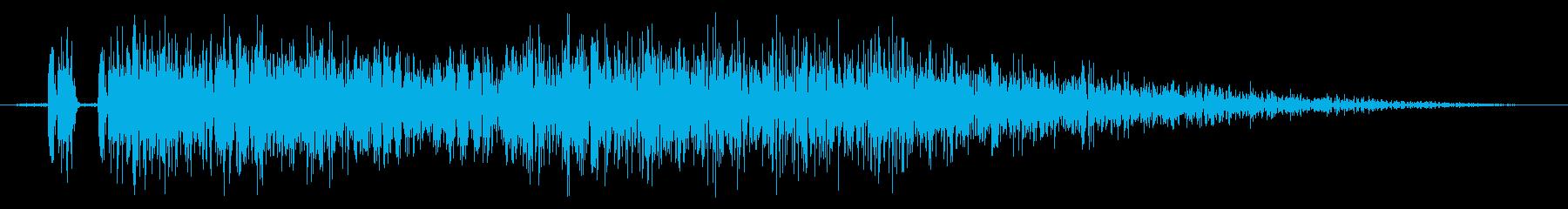 【打撃音20】パンチやキックに最適です!の再生済みの波形