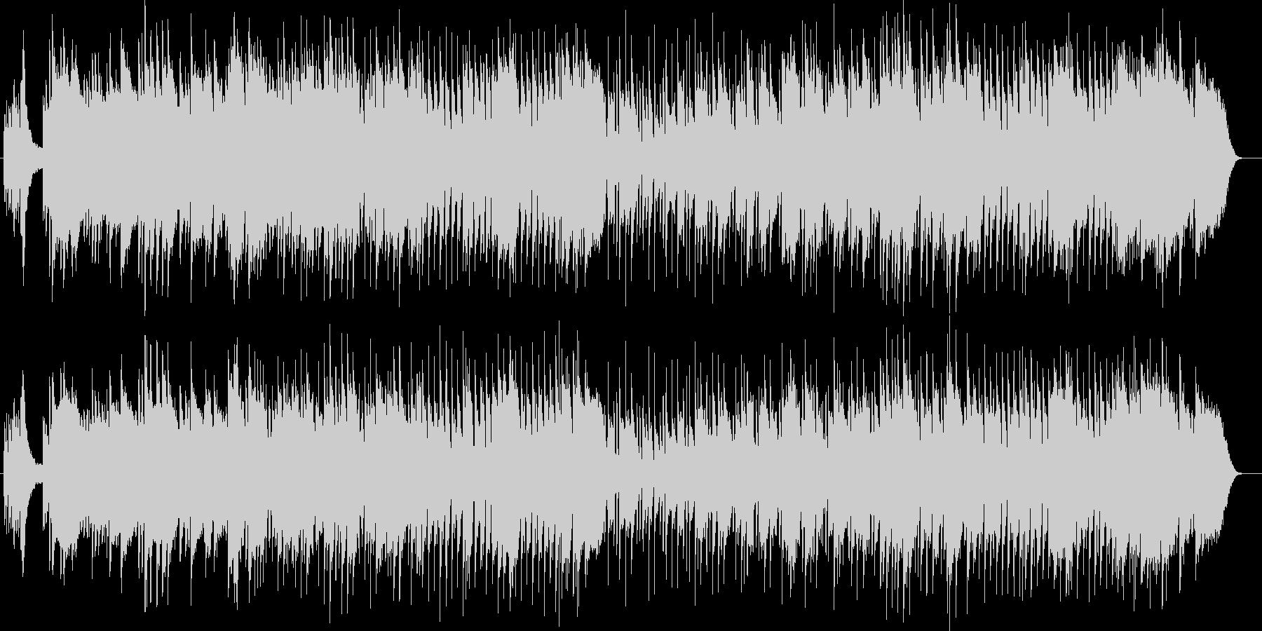 しみじみと感じる感動的なピアノのバラードの未再生の波形