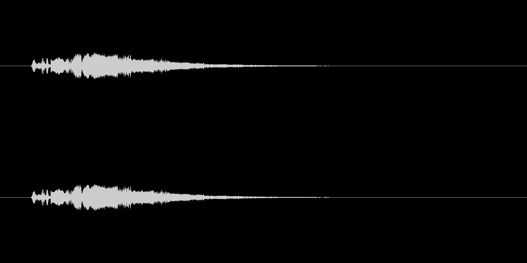 【ポップモーション30-4】の未再生の波形