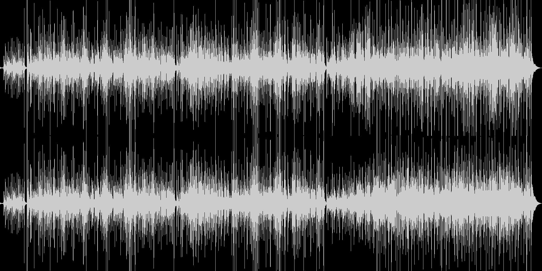 ウクレレとギターの爽やかな海に合う曲の未再生の波形