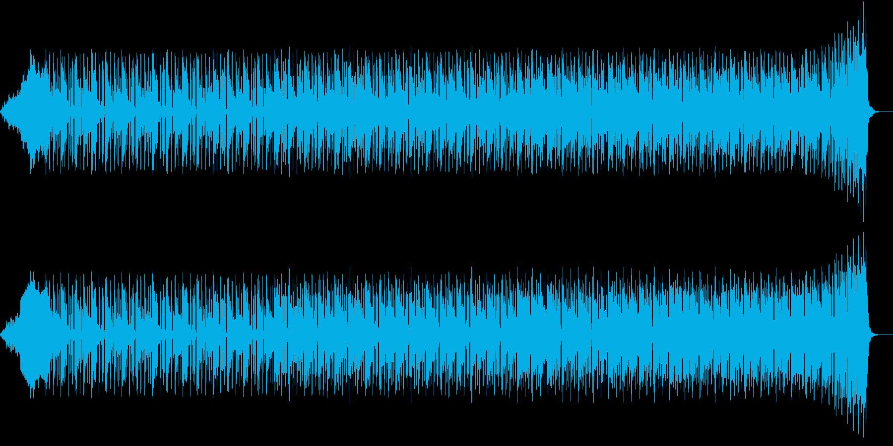 困惑している脳の音の再生済みの波形