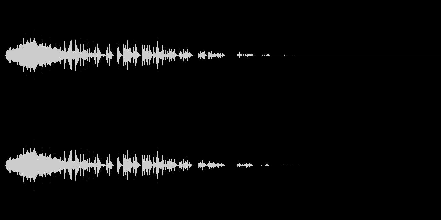 お腹がすく音 (グウゥゥゥゥー)の未再生の波形