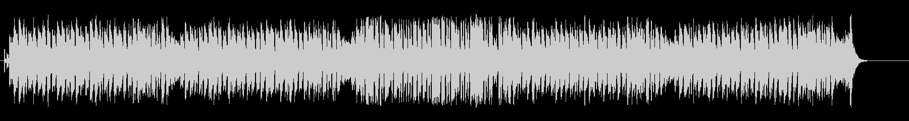上品でウキウキのマーチ・サウンドの未再生の波形