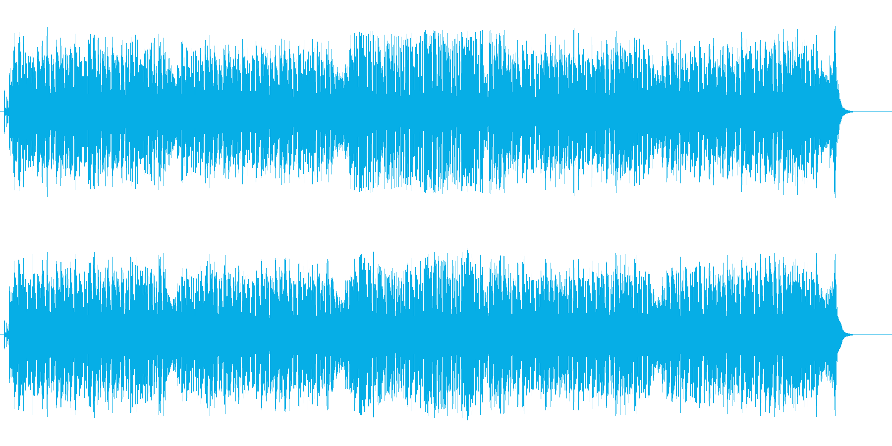 上品でウキウキのマーチ・サウンドの再生済みの波形