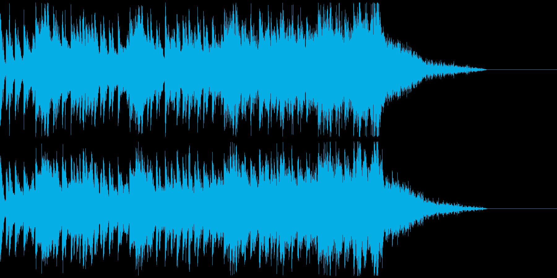 オシャ4つ打ち、スタイリッシュ雰囲気系6の再生済みの波形