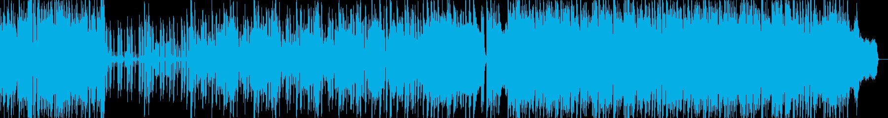 ポップでキャッチーな元気ピアノ繊細の再生済みの波形