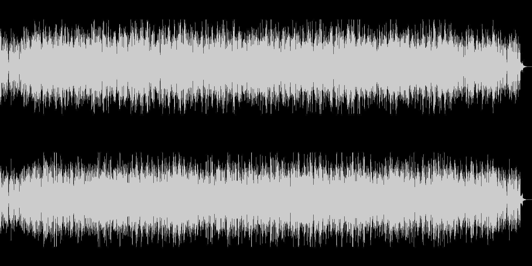 アナログシンセの70sテクノの未再生の波形