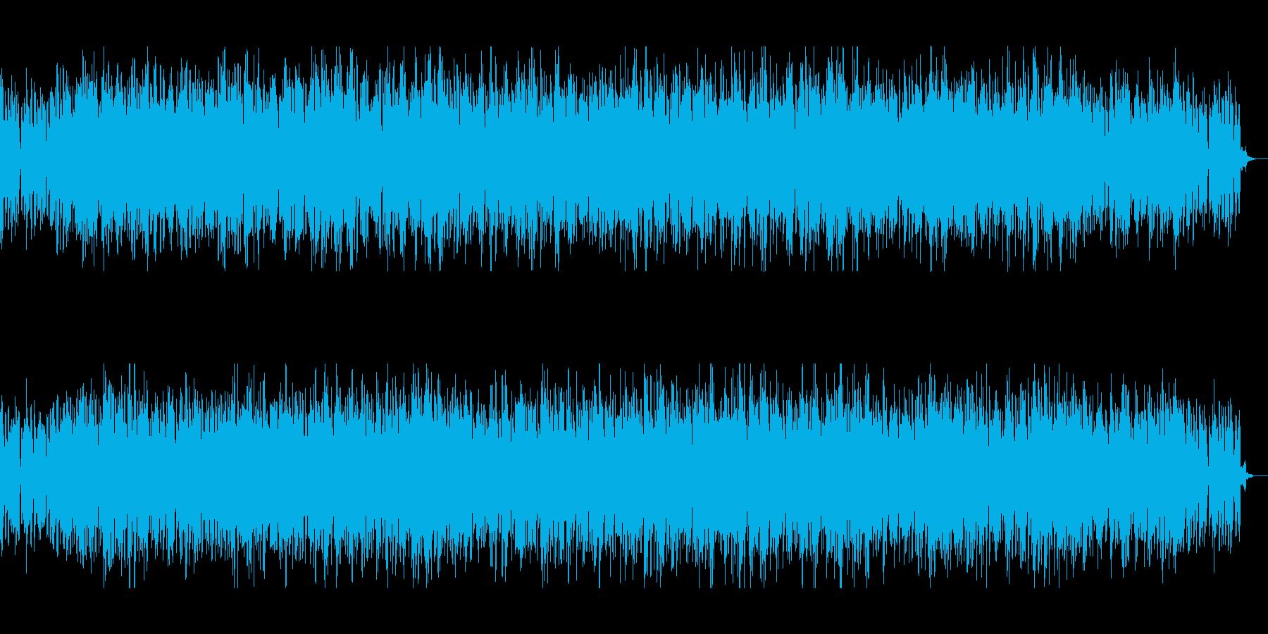 アナログシンセの70sテクノの再生済みの波形