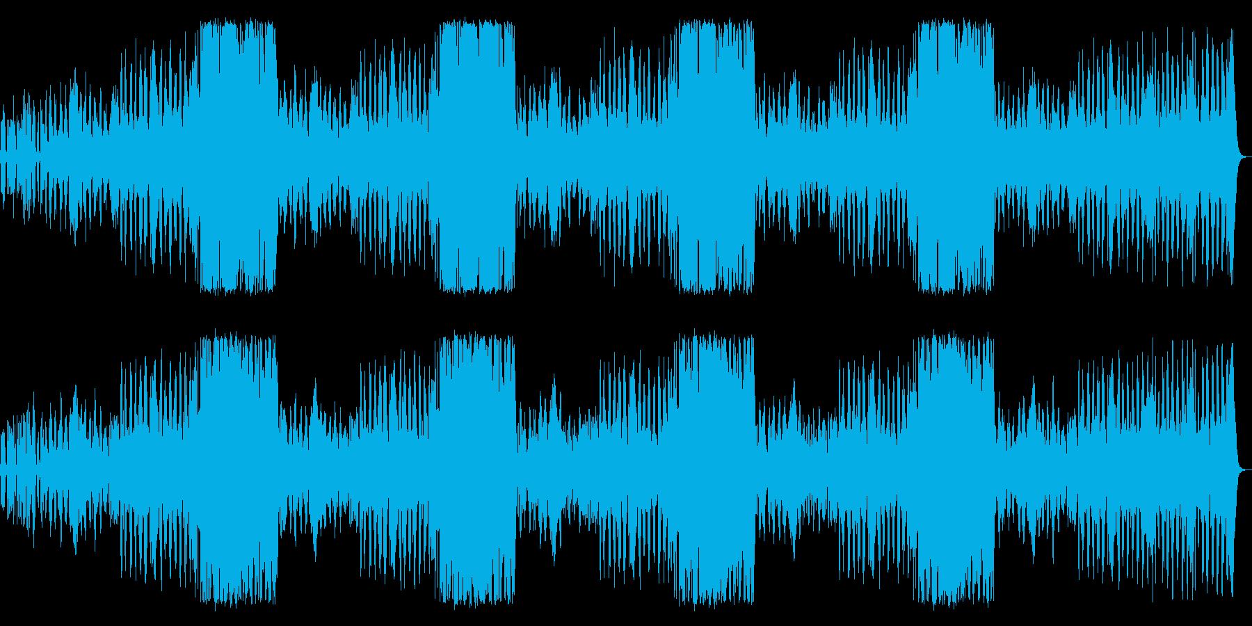 一日の始まりにピッタリのポップスの再生済みの波形