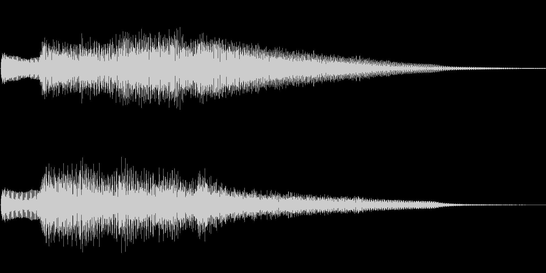 ジングル101bの未再生の波形