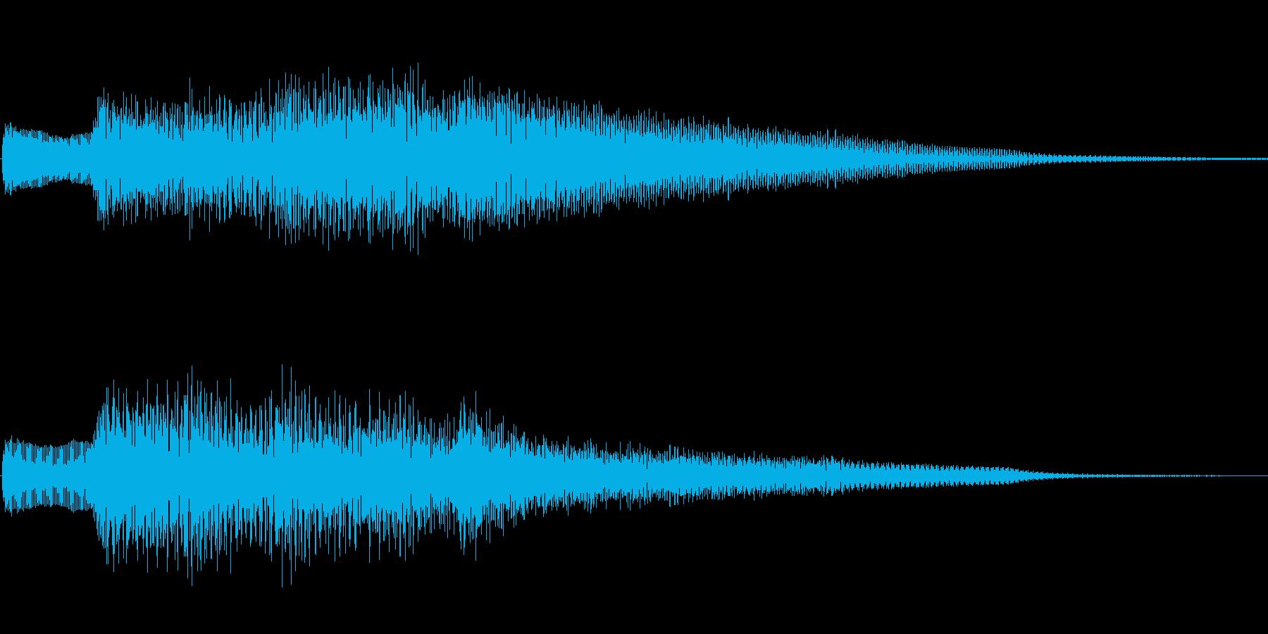 ジングル101bの再生済みの波形