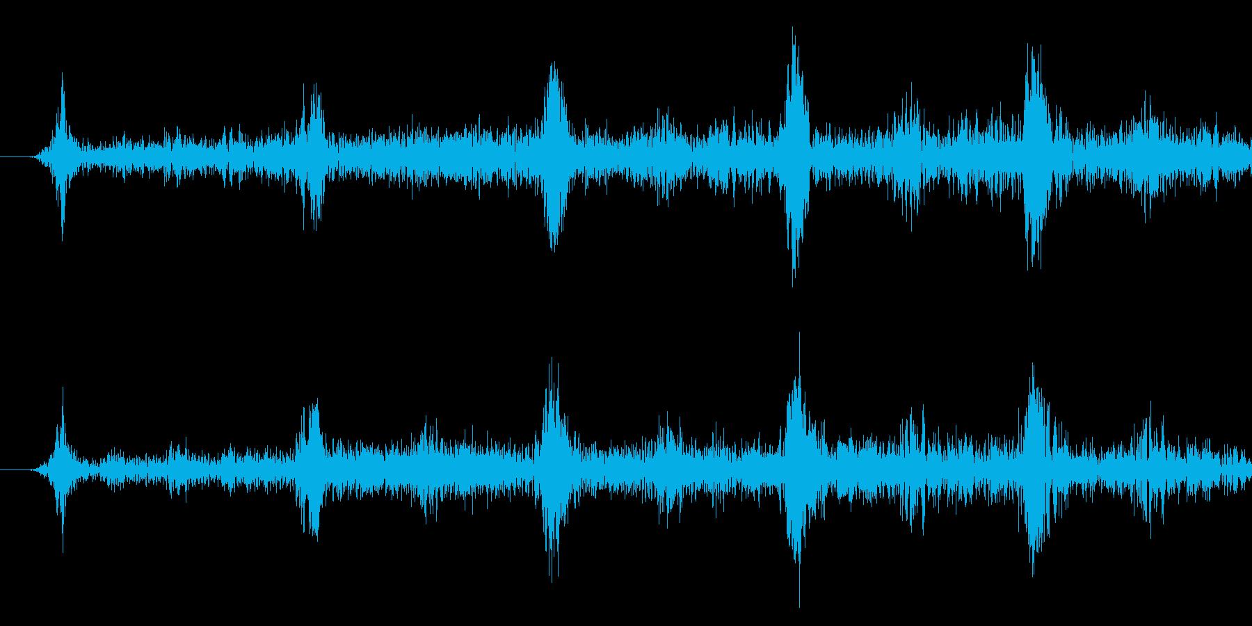 メニュー画面音(ウインドウ,決定等)07の再生済みの波形