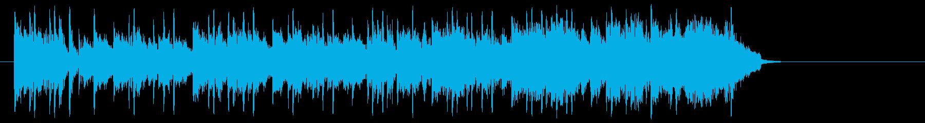 夢に向かう前向きポップ(イントロ~サビ)の再生済みの波形