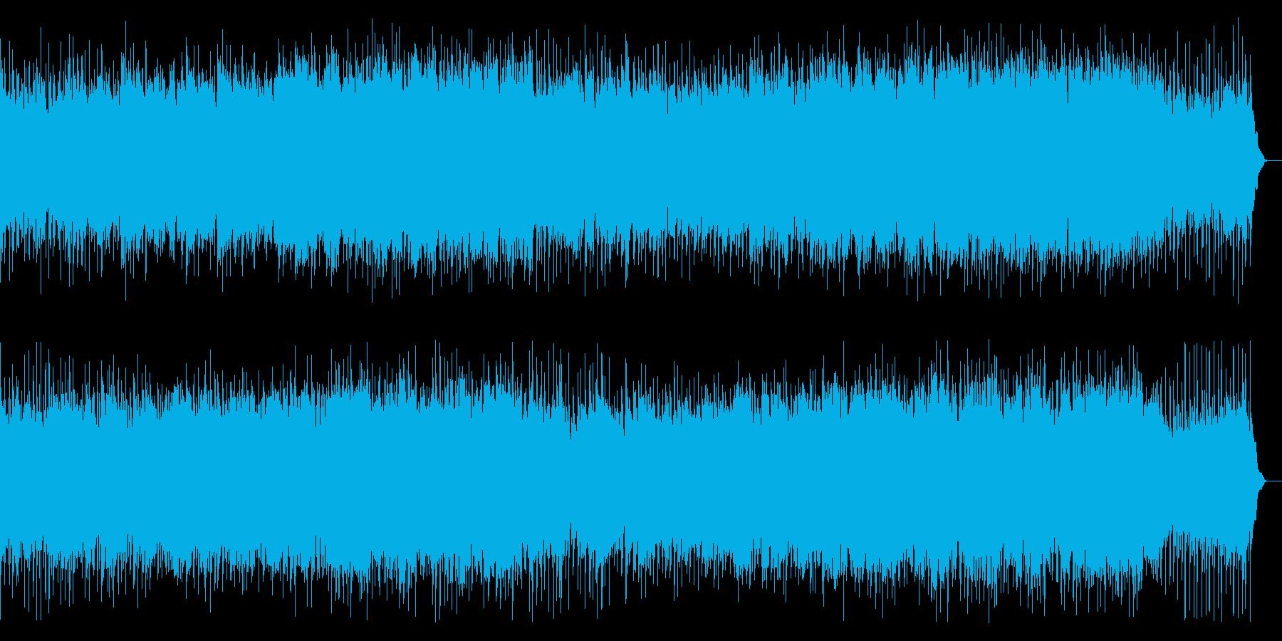 BGM023-01 ピアノとストリング…の再生済みの波形
