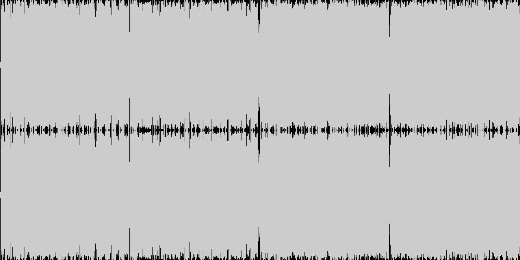 8bit音のみで作ったシンプルピコピコ…の未再生の波形