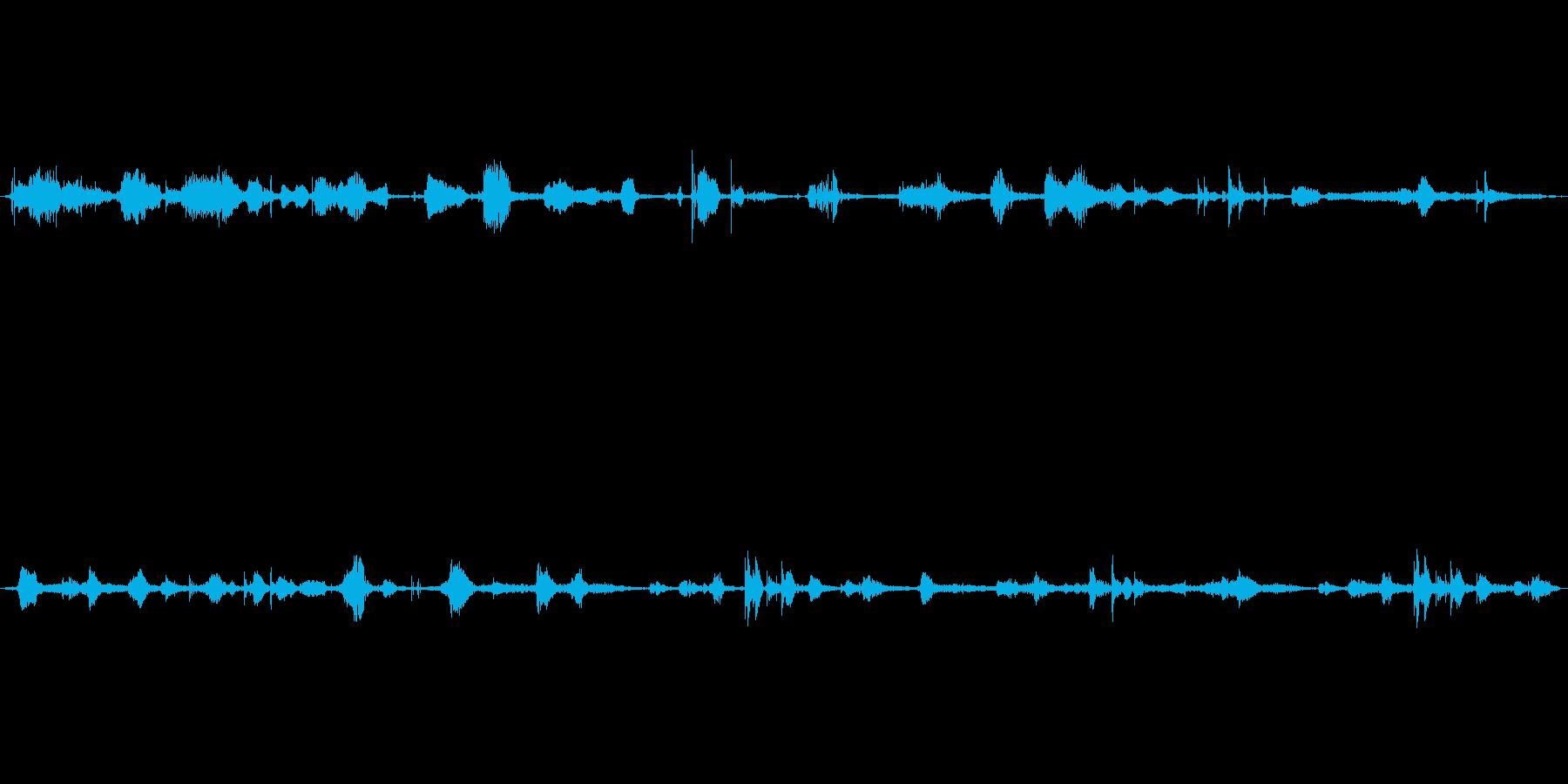 (ささやき)の再生済みの波形