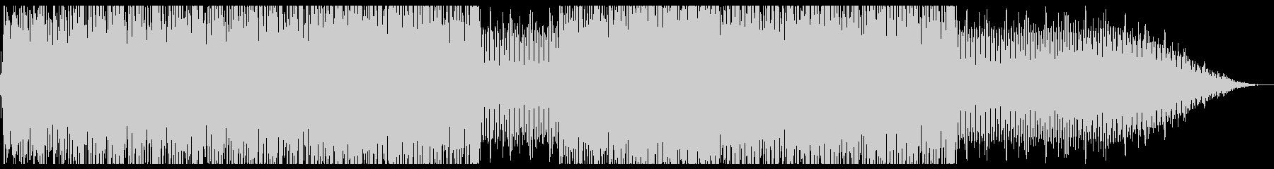 底抜けに明るいサンバ・カーニバルの未再生の波形