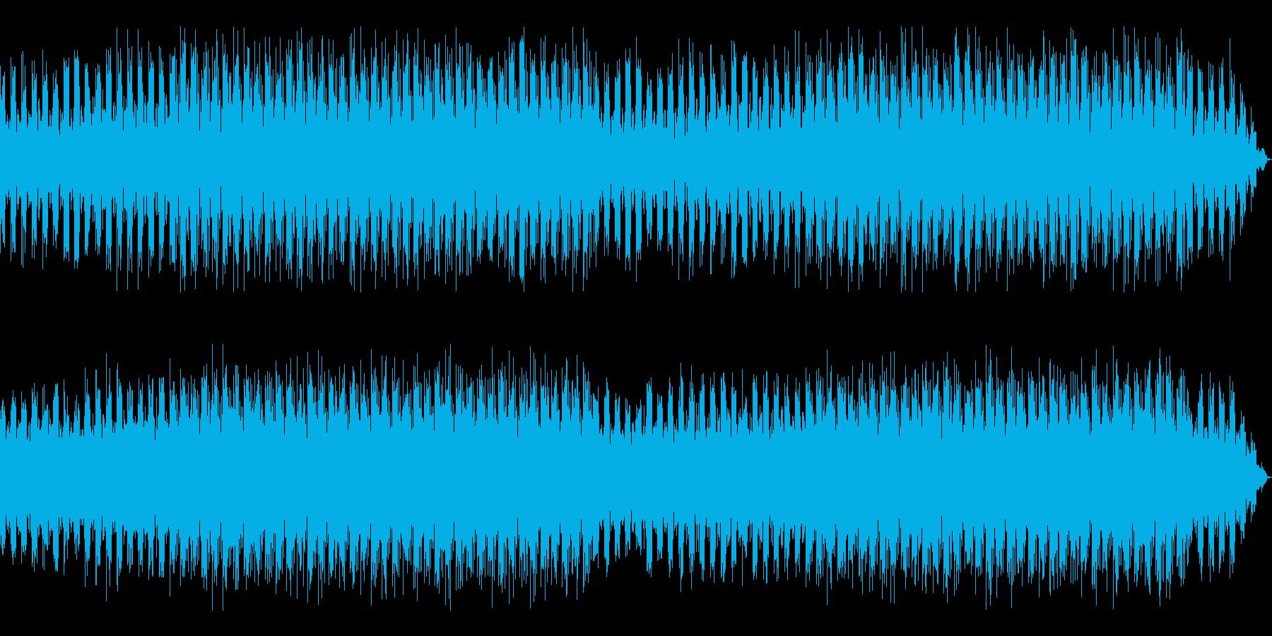 AIやアンドロイドのシステム起動中の再生済みの波形
