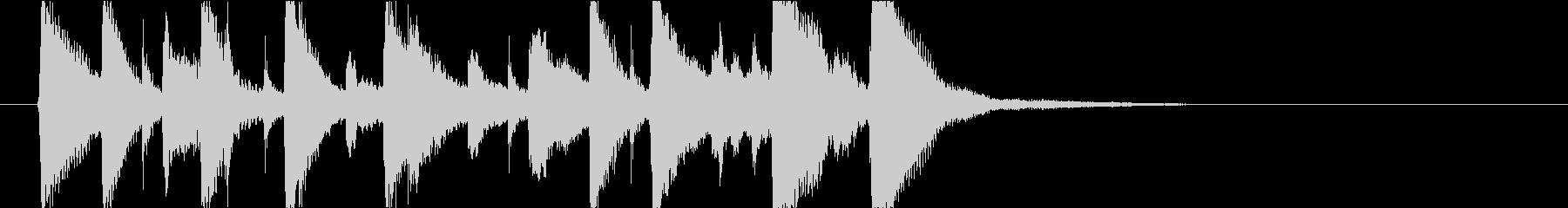 いたずらっぽく楽しいミディアムスイング2の未再生の波形