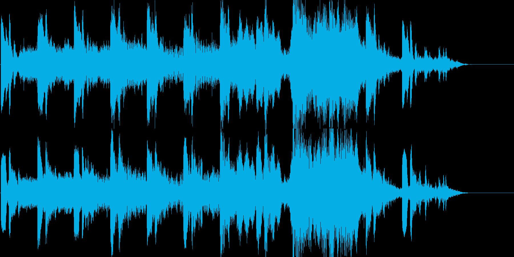 幻想 怪奇 報道 シリアス 重たいの再生済みの波形