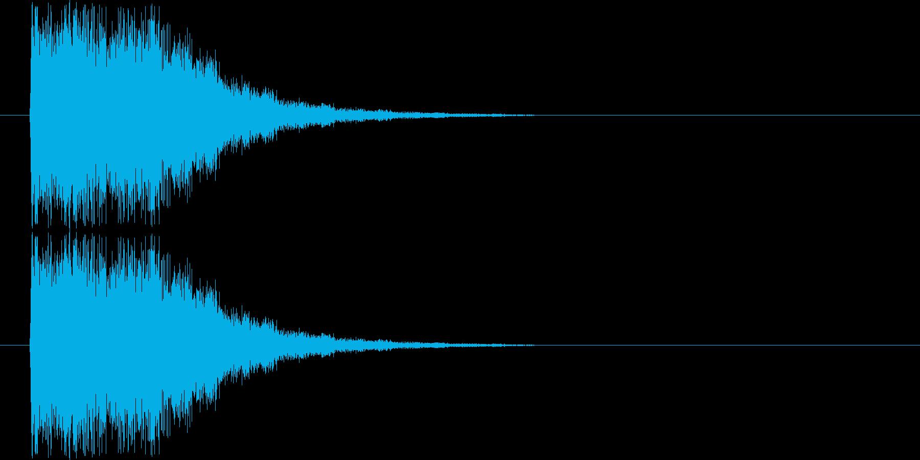 光系インパクトの再生済みの波形