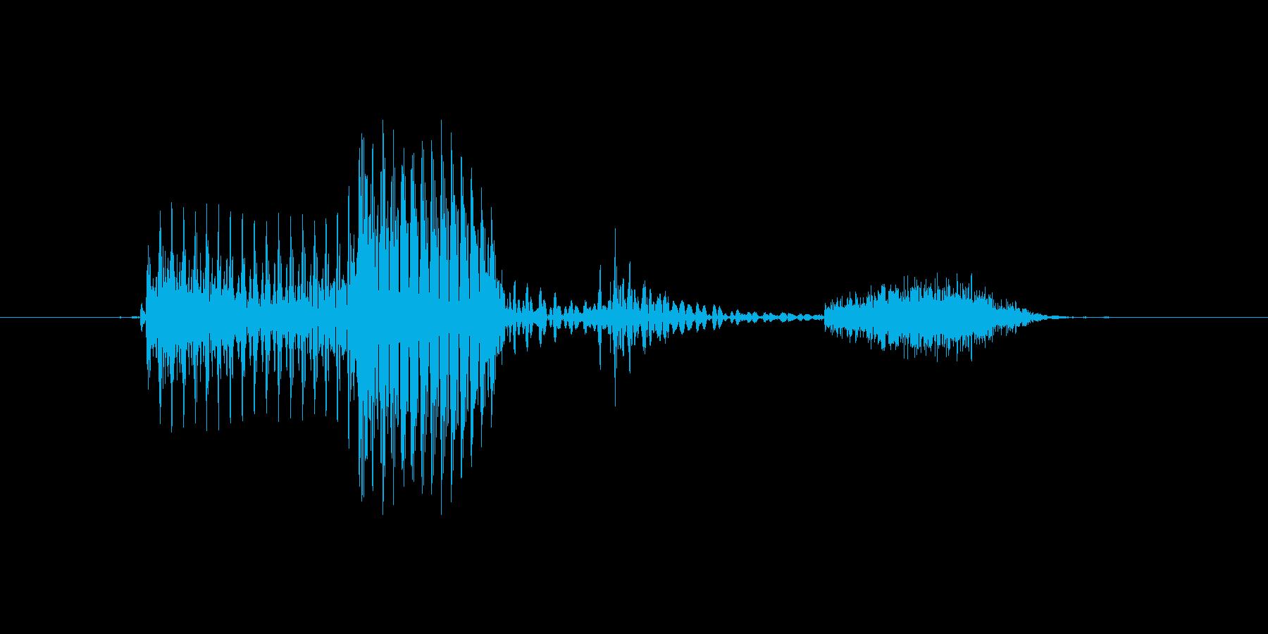 「11th/eleventh」英語の再生済みの波形