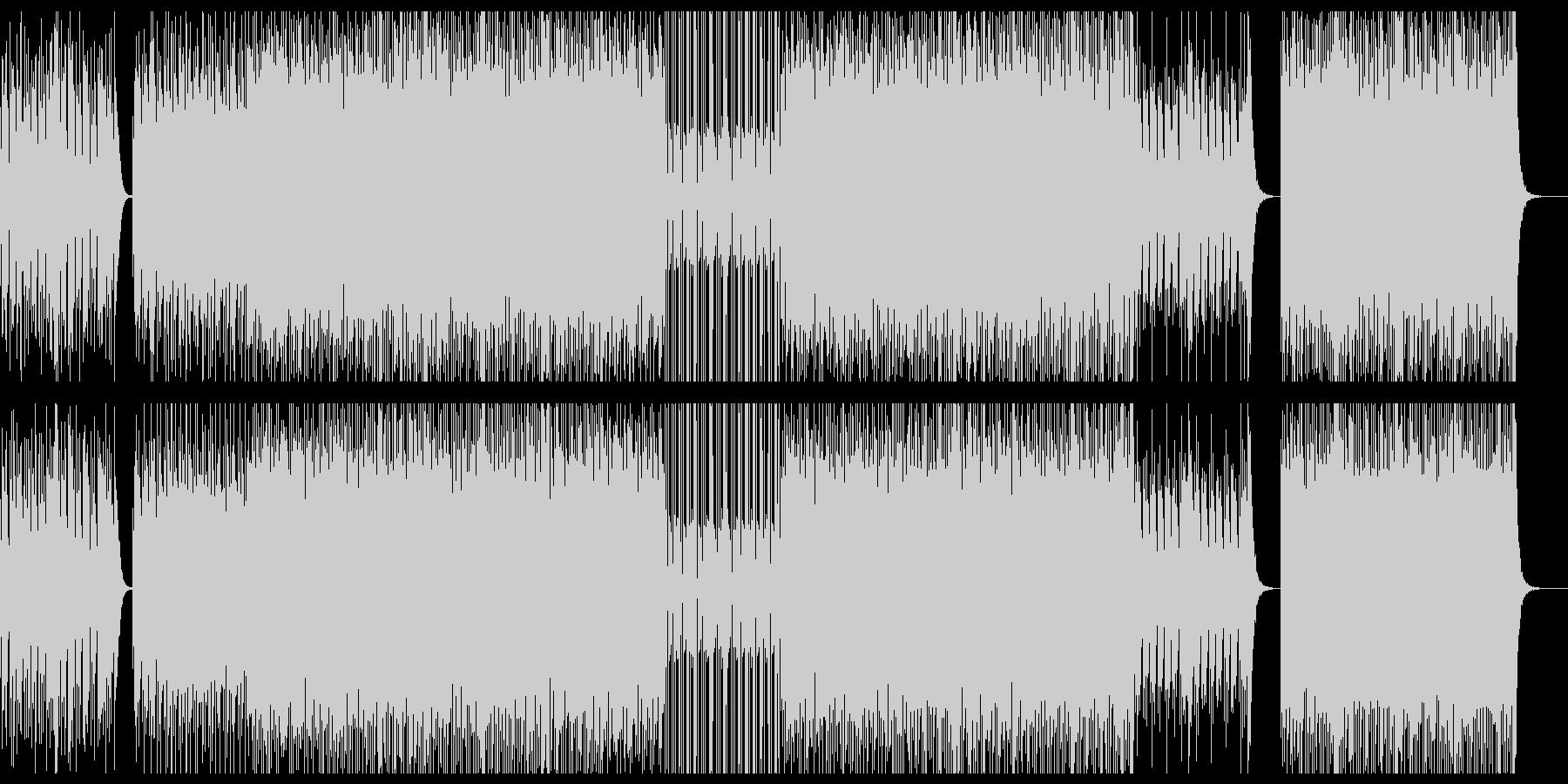 サイバー/テクノ/ヒップホップ/ラップの未再生の波形