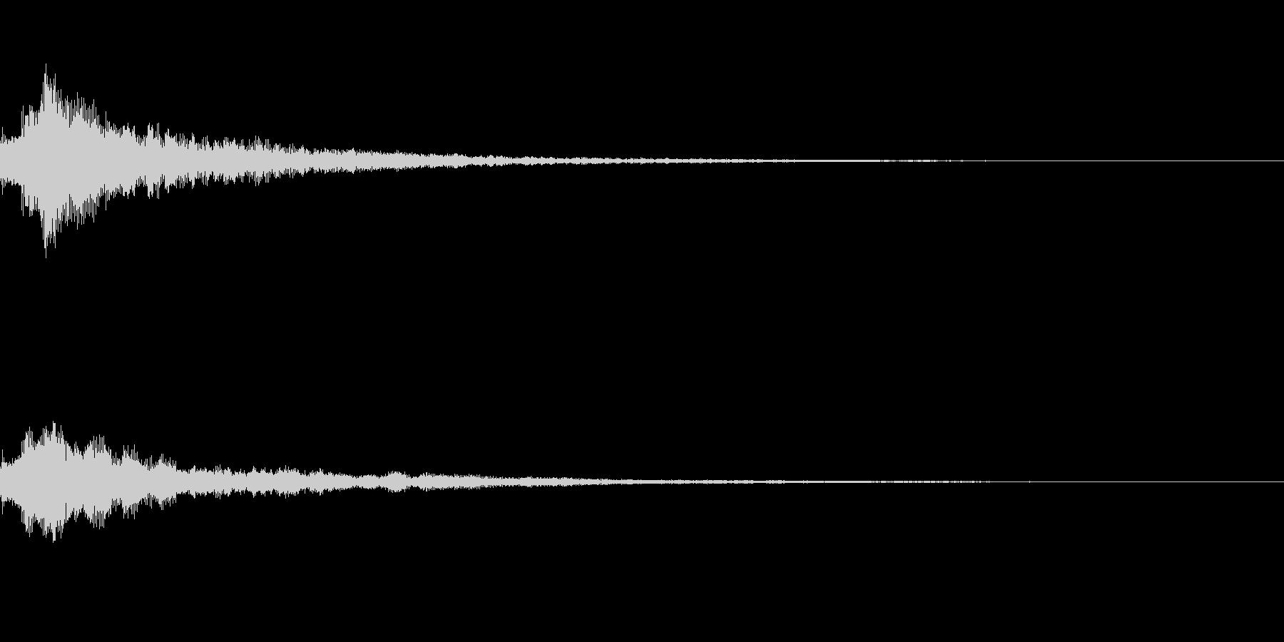 しゃらん♪ (連鎖02)の未再生の波形