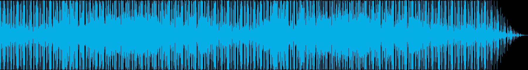 ポップなギターサウンドの再生済みの波形