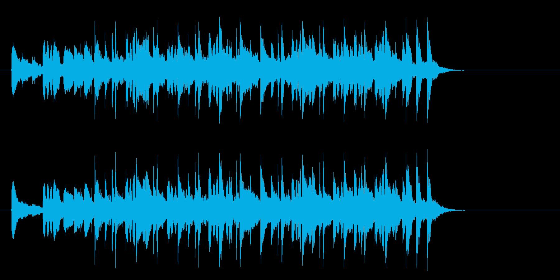 牧場のメルヘンなポップス(Aメロ)の再生済みの波形