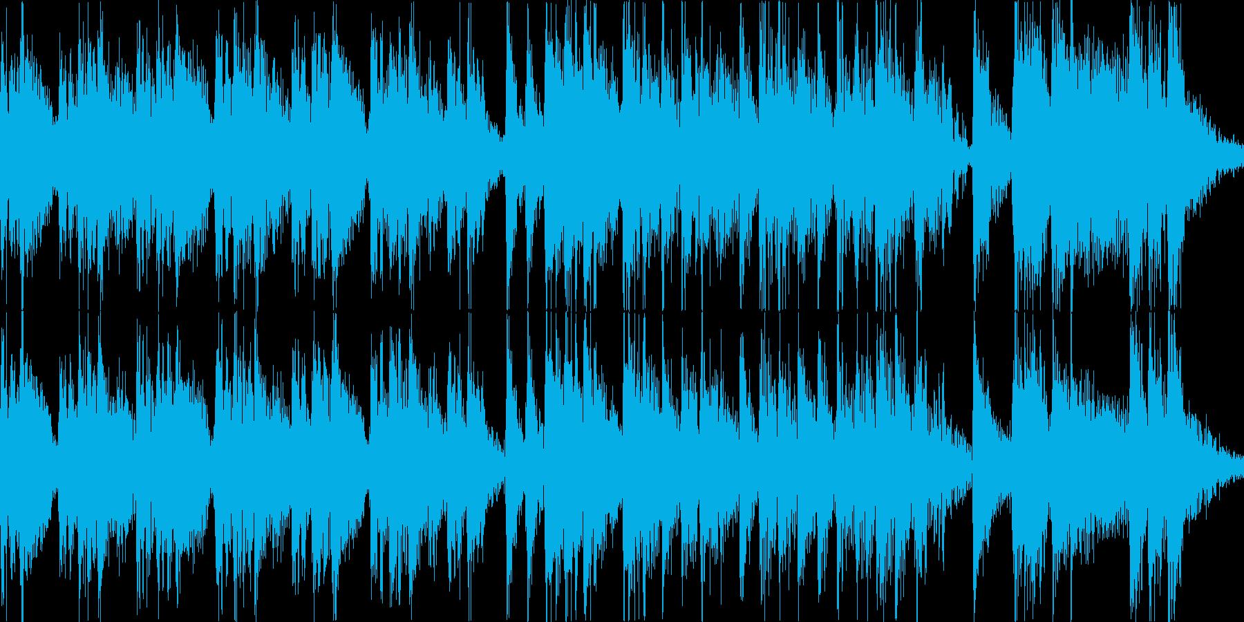 やや中華風なジングルです。の再生済みの波形