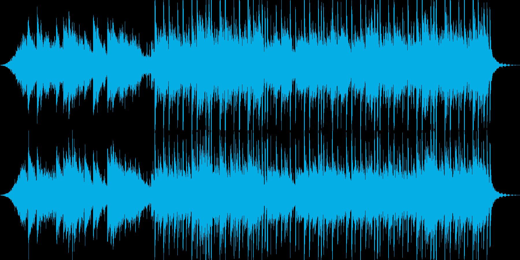近未来的で切ないピアノエンディングの再生済みの波形