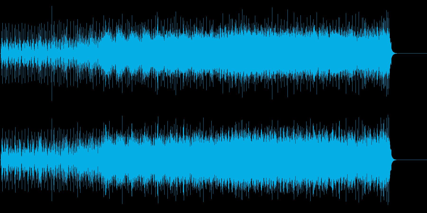 エッセンシャルなロック(ギタープレイ)の再生済みの波形