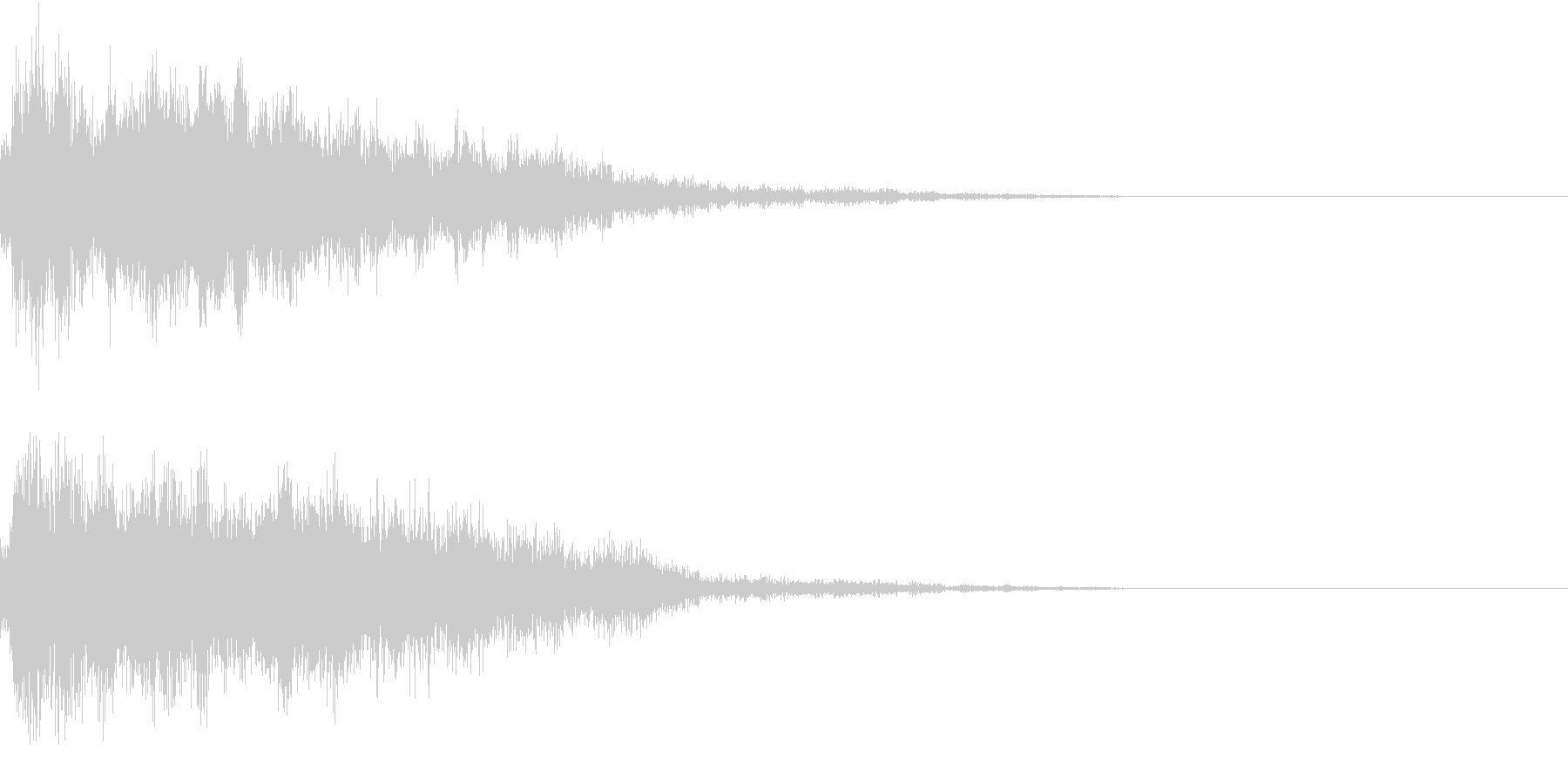 登場 紹介 変化 変身 タイトルロゴの未再生の波形