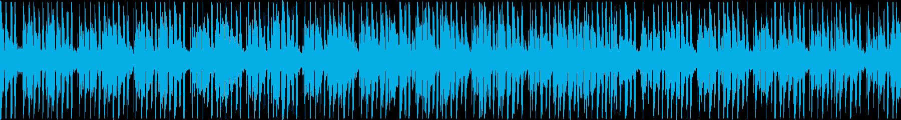 浮遊感のあるピアノエレクトロニカの再生済みの波形