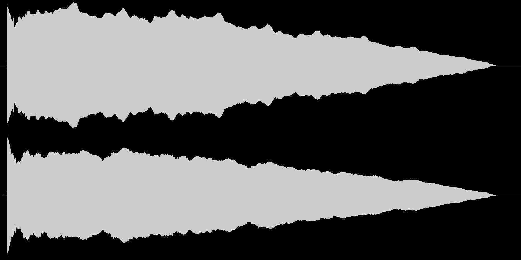 カウント 単発 ぴーーー ピー レーダーの未再生の波形