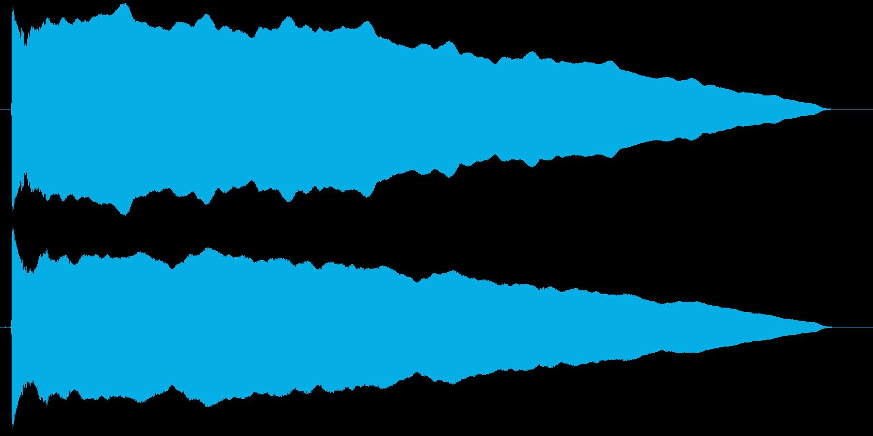 カウント 単発 ぴーーー ピー レーダーの再生済みの波形