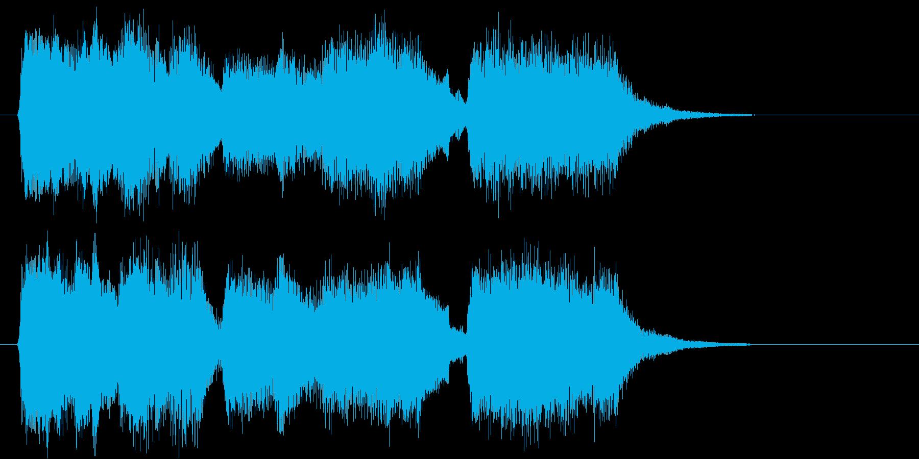 教会の祈り のようなイメージ ファンタ…の再生済みの波形