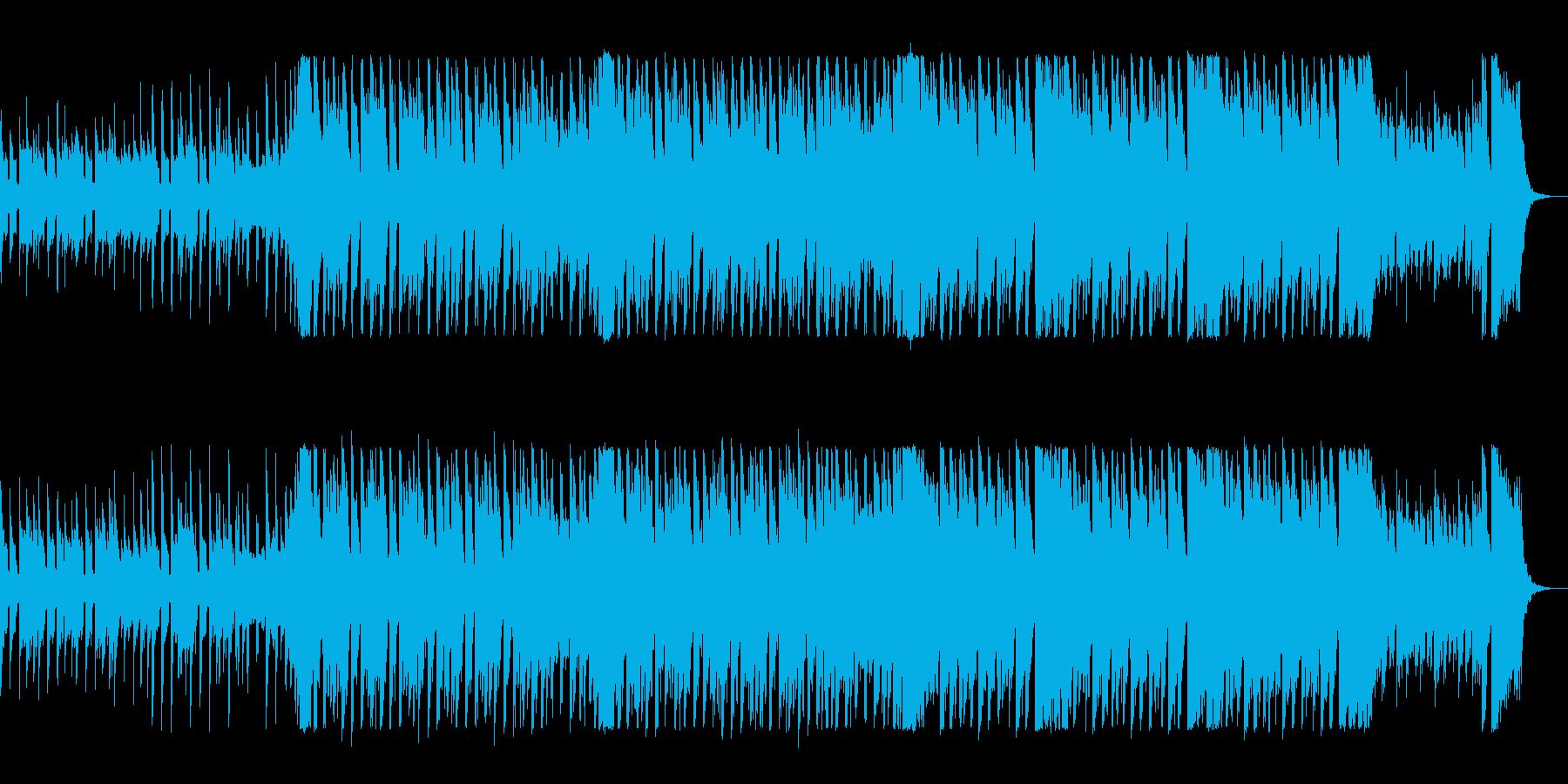 明るくて元気のでるテクノポップスの再生済みの波形