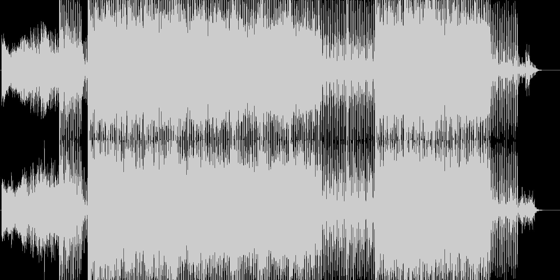 機械的なイメージの未再生の波形