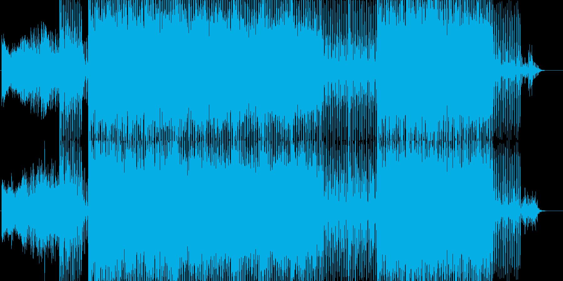 機械的なイメージの再生済みの波形