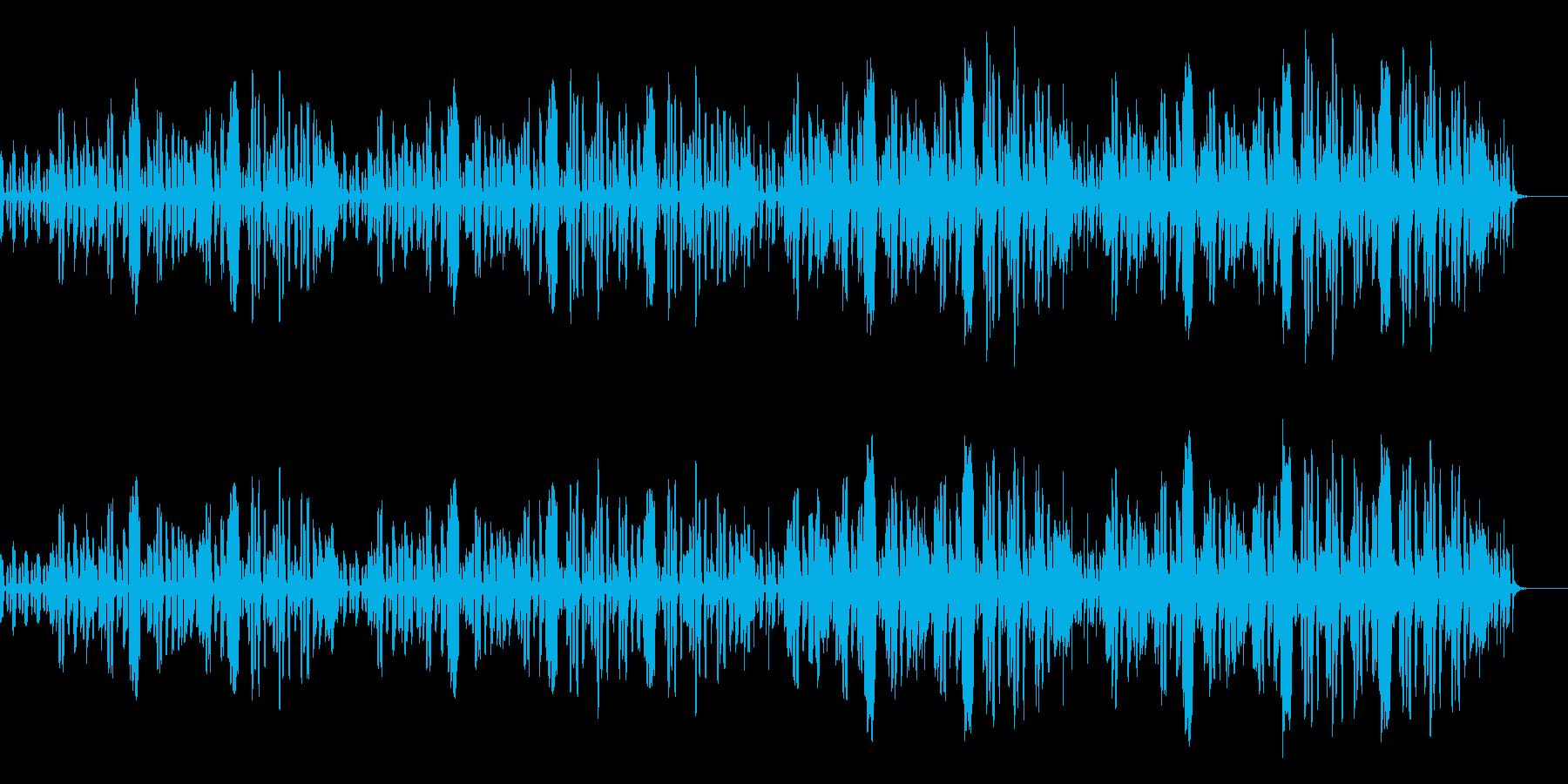 リコーダーとファゴットのコミカルなBGMの再生済みの波形