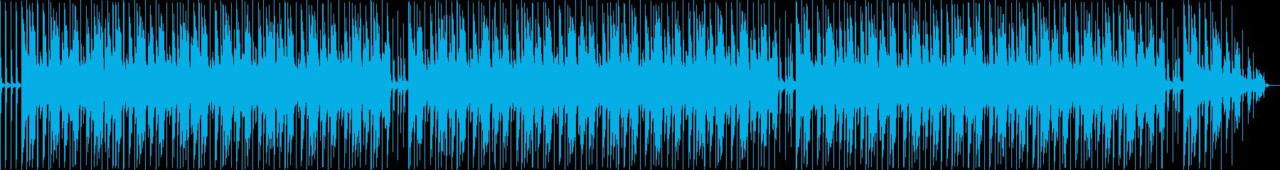 ほのぼのとした動画に使えるポップスBGMの再生済みの波形